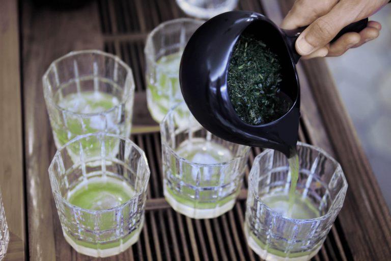 Kirishima Tennen Gyokuro (Asatsuyu cultivar) on ice
