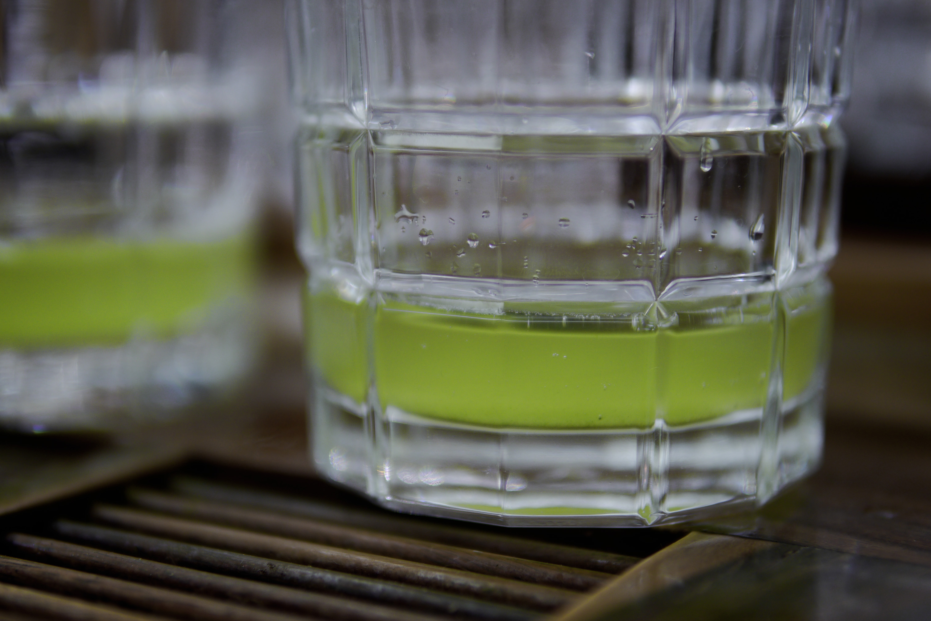 Cold and super green: Morimoto Mizudashi Shiraore