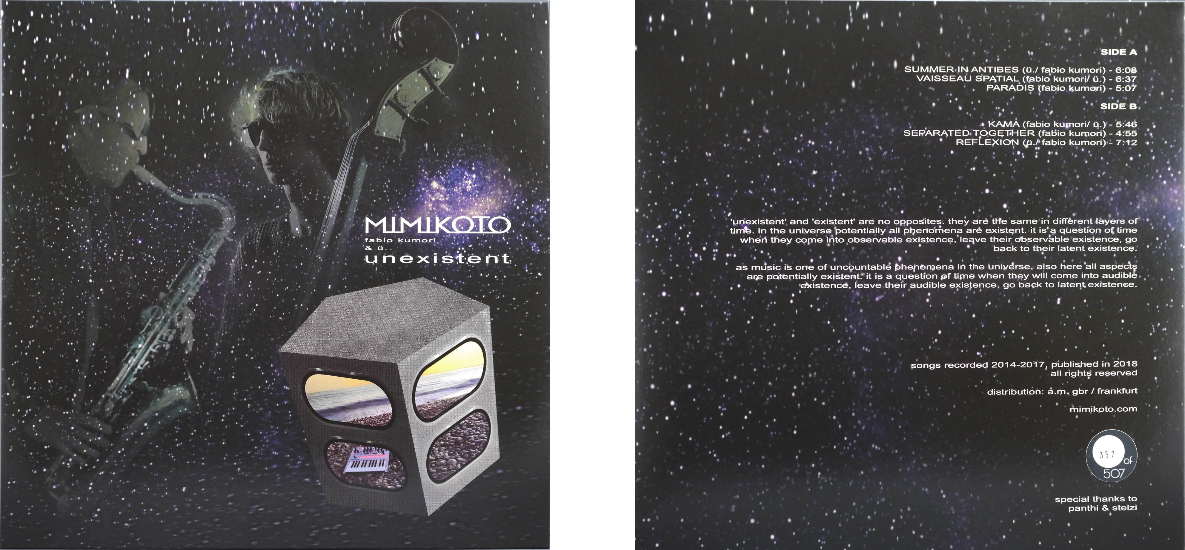 MIMIKOTO - unexistent LP